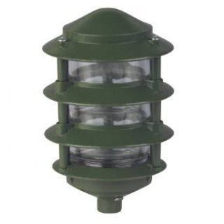 Thomas & Betts K440 Red Dot Dry Tite Four Tier Garden Light with 12 Inch Extended Leads, Gasket and Ground Screw, Green   Chandeliers