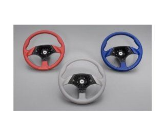 Yamaha Rhino Sport Steering Wheel. Red. OEM. SSV 5B442 40 R1 Automotive