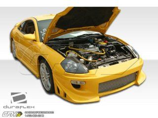 2000 2005 Mitsubishi Eclipse Duraflex Blits Body Kit   4 Piece   Includes Blits Front Bumper Cover (100118) Blits Rear Bumper Cover (100119) Blits Side Skirts Rocker Panels (100120) Automotive