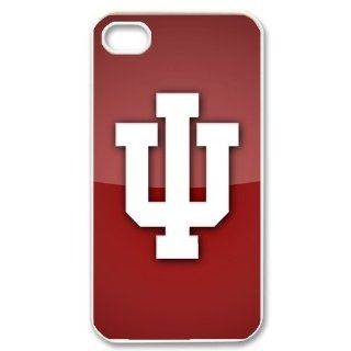 Custom Indiana Hoosiers Cover Case for iPhone 4 4s LS4 2157 Cell Phones & Accessories