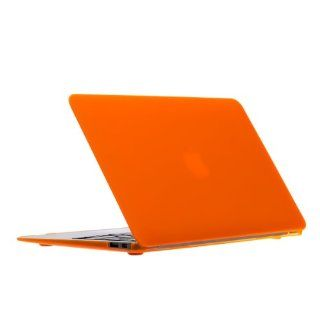 "New Release Limited Time Offer UPPERCASE Soft Touch Hard Shell Case for Macbook Air 13.3"", Orange Computers & Accessories"