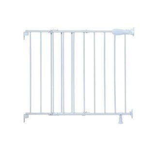 Summer Multi Use Extra Tall Walk Thru Gate, White  Indoor Safety Gates  Baby