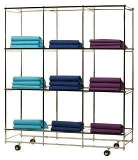 Portable Folding Display Merchandiser   BCU 4653   Acrylic Shelves   Floating Shelves