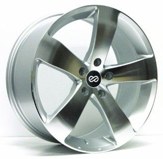 "Enkei GP5  Performance Series Wheel, Silver Machined (18x8""   5x112, 45mm Offset) One Wheel/Rim Automotive"