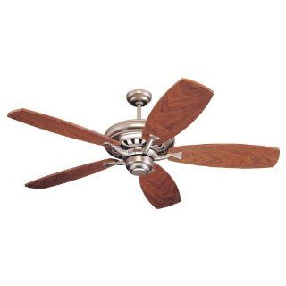 Monte Carlo 5MXBP Maxima 5 Blade Ceiling Fan, Blades Sold Separately, Brushed Pewter Blades
