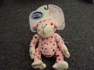 Webkinz Plush Stuffed Animal Love Monkey, valentine Toys & Games