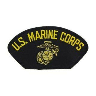US Marines Military Iron On Hat Or Shirt Patch   U.S. Marine Corps Logo Clothing