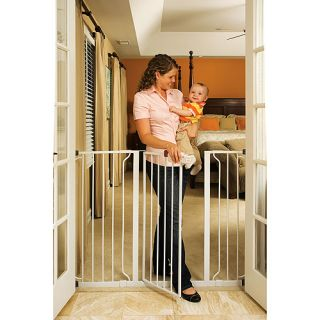 Regalo   Extra Tall Widespan Walk Through Baby Gate