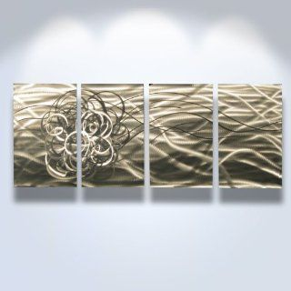 Metal Wall Art, Modern Home D�cor, Abstract Wall Sculpture Contemporary  Torrent   Contemporary Metal Wall Decor