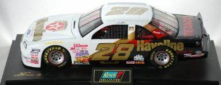 1997   Revell Monogram Inc   Revell Collection Club / NASCAR   Ernie Irvan   #28 Texaco / Havoline Racing   10th Anniversary   Ford Thunderbird   Mounted   118 Scale Die Cast Metal   #418 of 504 Produced   New   Out of Production   Mint   Rare   Collectib