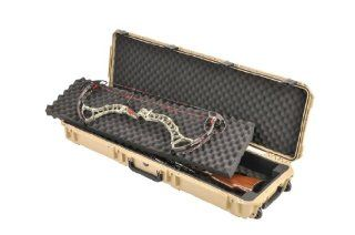 SKB Injection Molded 495 Inch Double Bow/Rifle Case (OD Green)  Archery Bow Cases  Sports & Outdoors