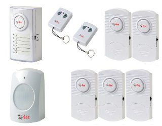 Q See QSDL506W Wireless Home Security Alarm System Kit (DIY)