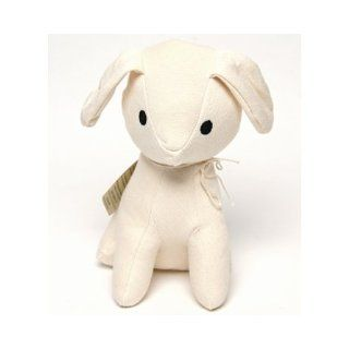Foundlings The Sitting Puppy Stuffed Toy Dog, Organic Cotton Books