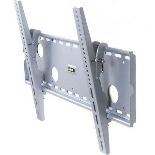 "VideoSecu MP501S Tilt LCD LED TV Wall Mount for most 32 65"" LCD LED Plasma HDTV Flat Panel Screen Display M61 (Silver) Electronics"