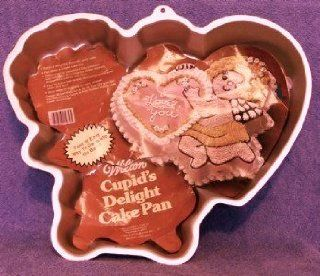 Wilton Cake Pan Romantic Cupid/Cupid's Delight (502 4262, 1982) Kitchen & Dining