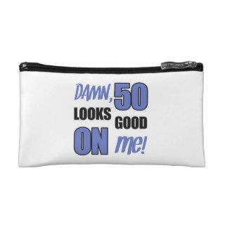 Funny 50th Birthday Gag Gift Makeup Bags