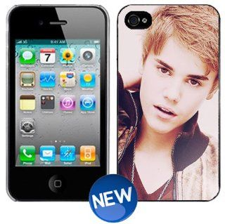 JUSTIN BIEBER Vintage iPhone 4 4s Plastic Hard Phone Cover Case