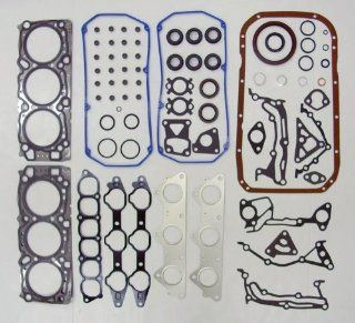 95 98 Mitsubishi Montero 6G72 3.0L 2972cc V6 24V SOHC Engine Full Gasket Replacement Kit Set (FelPro HS26186PT, CS9842) Automotive