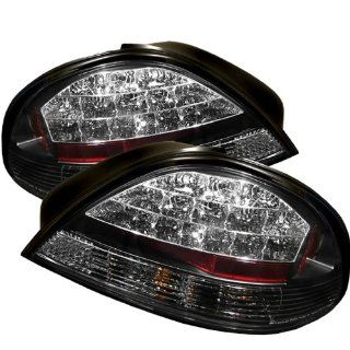 Pontiac Grand Am 1999 2000 2001 2002 2003 2004 2005 LED Tail Lights   Black Automotive