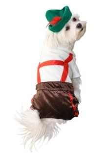 Anit Accessories Lederhosen Dog Costume, 8 Inch  Pet Costumes