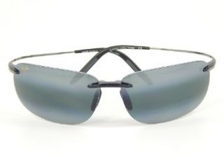 New Maui Jim Olowalu 526 02 Black & Gunmetal/Neutral Grey Polarized Sunglasses Clothing