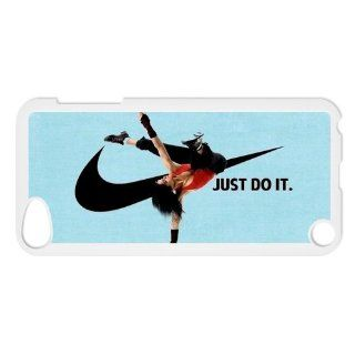 LVCPA Brand Logo Just Do It Printed Hard Plastic Case Cover for Ipod Touch 5 (7.03)CPCTP_536_16 Cell Phones & Accessories