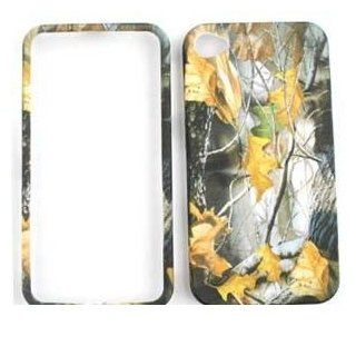 APPLE IPHONE 4 / 4S AT&T VERIZON Dry Leaves CAMO CAMOUFLAGE HUNTER HARD PROTECTOR COVER CASE / SNAP ON PERFECT FIT CASE Cell Phones & Accessories