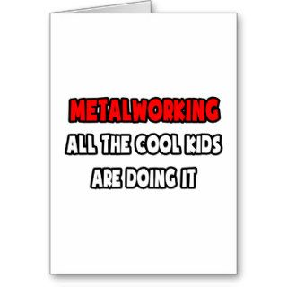 Funny Machinist Shirts and Gifts Greeting Card
