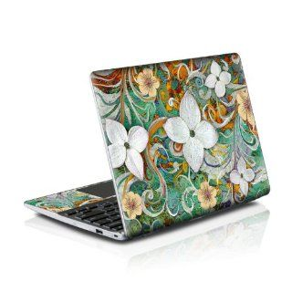 Sangria Flora Design Protective Decal Skin Sticker (High Gloss Coating) for Samsung Series 5 550 Chromebook 12.1 inch XE550C22 H01US (released May 2012) Computers & Accessories