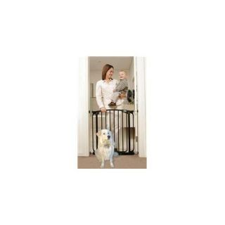 DreamBaby B1102 Swing Closed Security Gate  Black Dogs