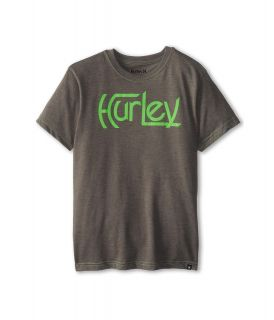 Hurley Kids Original S/S Tee Boys T Shirt (Gray)