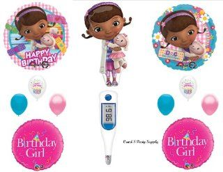Doc McStuffins THERMOMETER Happy Birthday PARTY balloons Decorations Supplies  Other Products