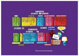 Books of the Bible   PRE CUT Flannelboard Lesson Set Toys & Games