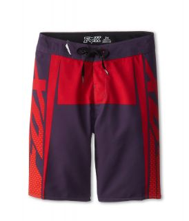 Fox Kids Trench Boardshort Boys Swimwear (Purple)