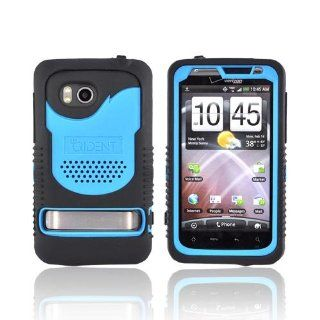 Blue Black OEM Trident Cyclops Hard Silicone Case Screen Protector, CY THDB BL For HTC Thunderbolt Cell Phones & Accessories