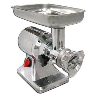 Omcan FTS12 Commercial Electric Meat Grinder Electric Food Grinders Kitchen & Dining