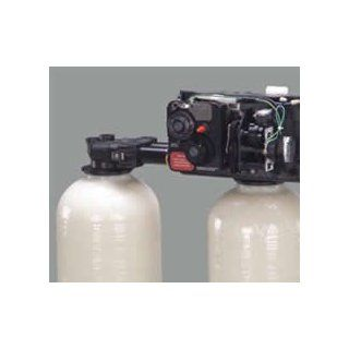 Fleck 9100 water softener control valve dual tank replacement head