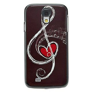 Rayshop   Musical Note Pattern Aluminum Hard Case for Samsung Galaxy S4 I9500 Cell Phones & Accessories