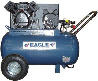 Eagle P3120H1 CC 20 Gallon 125 PSI Max PSI Electric Compressor   Automotive Air Compressors
