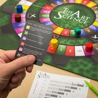 The Art of Science Advanced Trivia Game