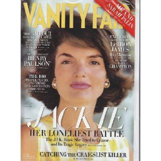 Vanity Fair October 2009 Jackie Kennedy Onassis cover (Also LeBron James, Sarah Palin, Henry Paulson, and more, No. 590) Books