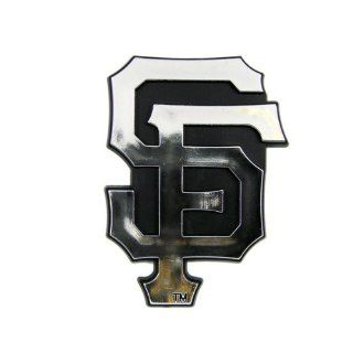 San Francisco Giants MLB Chrome 3D for Auto Car Truck Emblem Decal Sticker Baseball Officially Licensed Team Logo  Sports Fan License Plate Frames  Sports & Outdoors