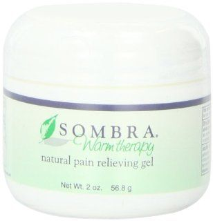 Sombra Warm Therapy Natural Pain Relieving Gel, 2 Ounce (Pack of 2) Health & Personal Care