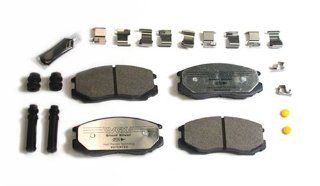 VGX MF602K Complete Brake Pad Kit With Hardware Automotive