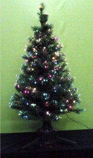 4 Ft PRE LIT FIBER OPTIC CHRISTMAS TREE ARTIFICAIL
