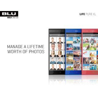 "Life Pure XL Full HD, 16MP, (32 GB+3GB RAM)   Factory Unlocked (""Black"") Cell Phones & Accessories"
