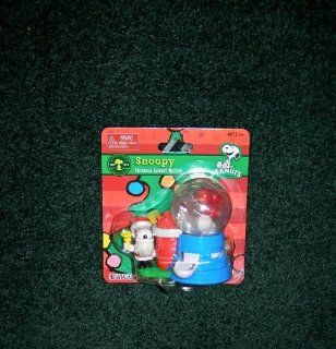 PEANUTS SNOOPY CHRISTMAS GUMBALL MACHINE Toys & Games