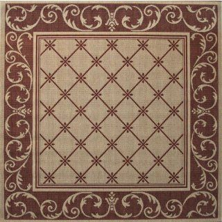 Balta US 30005059/205205.1 Avante Indoor/Outdoor Square Area Rug, 6 Feet 8 Inch by 6 Feet 8 Inch