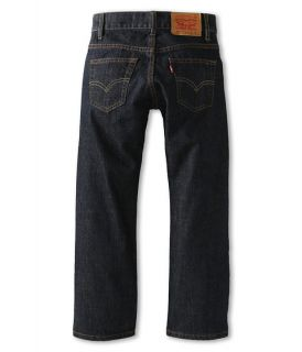 Levis Kids Boys 505 Regular Fit Jean Slim Big Kids Dark Blue