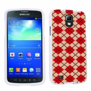 [ArmorXtreme] Samsung Galaxy Active S4 Total Protection Designer Case [Argyle Red] Cell Phones & Accessories